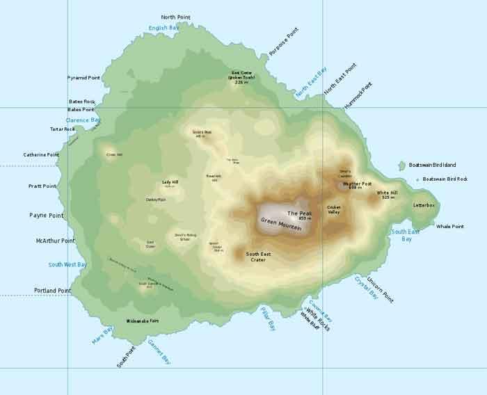 Ascension Eiland Meest Afgelegen Eilanden ter Wereld