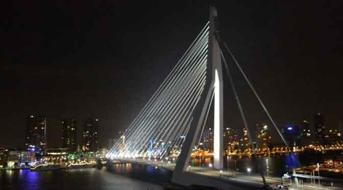 Bekende Bruggen in Nederland Erasmusbrug Rotterdam