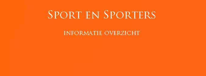 Sport en Sporters Informatie Overzicht
