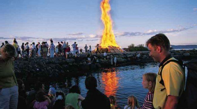 Feestdagen Overzicht Midzomer in Noorwegen