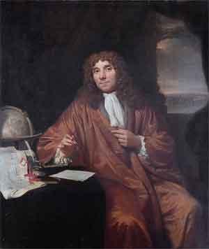Beroemde Uitvinders Antoni van Leeuwenhoek