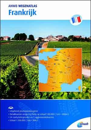 ANWB Wegenatlas Frankrijk