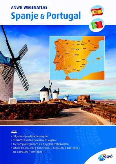 ANWB Wegenatlas Spanje